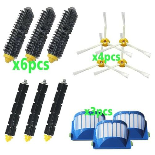 Robot Vacuum Cleaner Spare Parts For iRobot Roomba 600 Series Clean Brush Filter