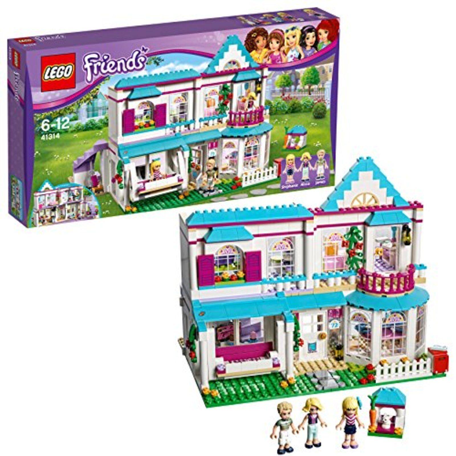 Lego amici Stefanie's modaable casa 41314 gratuito Ship w Tracre nuovo Japan