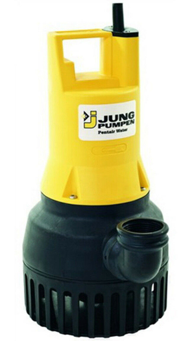 Jung u6 K e sumergible 230v 10 m agua sucia bomba bomba aguas sucias drainagepumpe