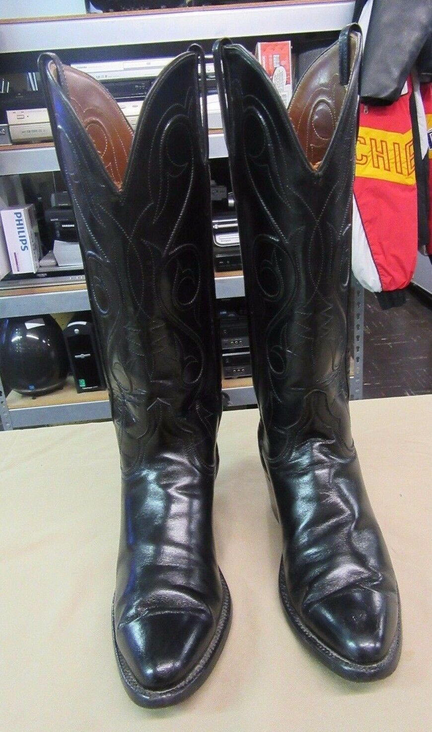 Lucchese Handmade Ladies Leather L7625 Cowboy Boots Sz 6 A