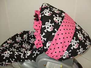 Image Is Loading SUGAR SKULLS INFANT CAR SEAT COVER Graco Amp
