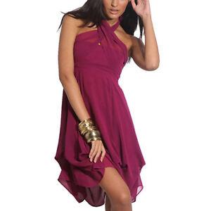 Hitched-Chiffon-Bubble-Hem-Convertible-Cocktail-Party-Dress-Violet