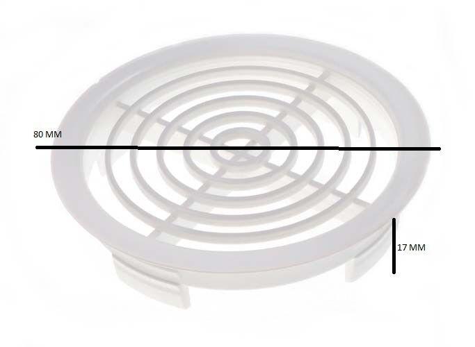 Empuje de Sofito de Respiradero de Techo Flujo de Aire Ventilator Parrilla