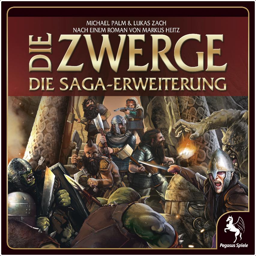 Die Zwerge: Saga Erweiterung Limitierte Erstauflage - Spiel - Deutsch - NEU OVP