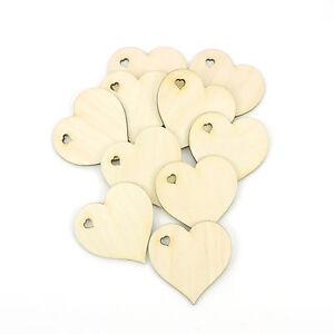 10 Stück Birkenholz Herz Hochzeit Taufe Geschenk GWH 6cm 8cm 11cm Tischdeko
