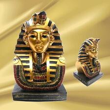 Tutankhamon busto faraón egipcio rey hermosa trabajado nuevo embalaje original