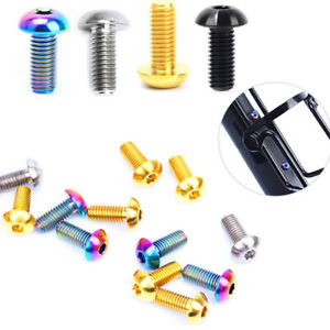 RISK Screws M5x12mm Bottle Cage Bolt Sports Cycling Fitness Spare Parts