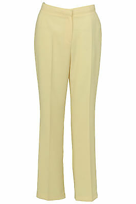 Busy Lemon Yellow Smart Ladies Trousers