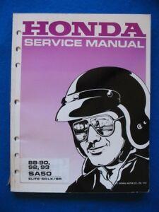 honda 2000 lx shop manual