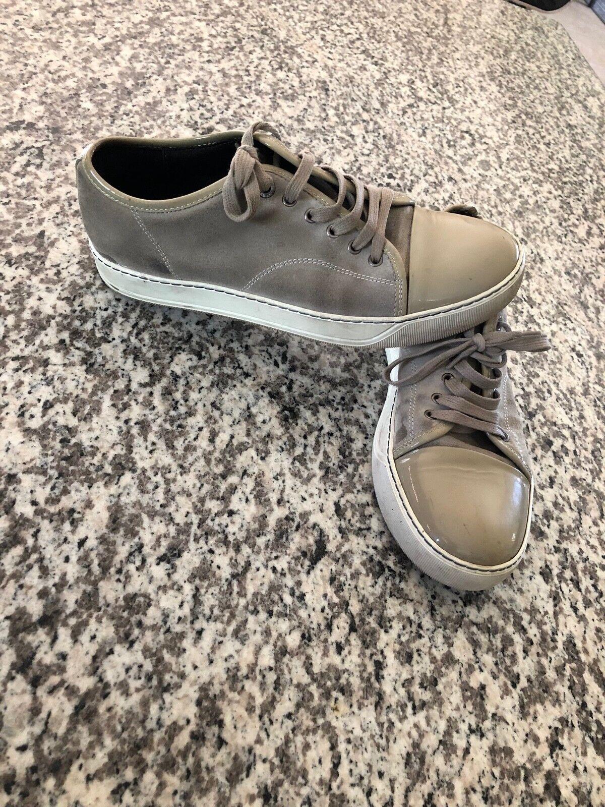 Zapatos hombre pre-owned Lanvin Beige Tamaño 9