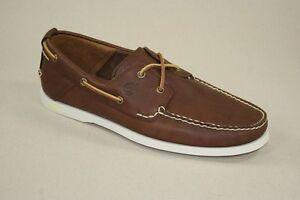 Timberland-Heritage-2-Eye-Boat-Shoes-Segelschuhe-Bootschuhe-Herren-Schuhe-6501R