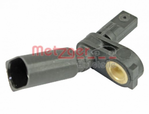 Raddrehzahl für Bremsanlage Vorderachse METZGER 0900075 Sensor