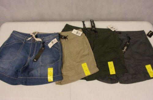 "NWT Women/'s Supplies by UNIONBAY /""Brenda/"" Drawstring Casual Shorts 4Pocket"