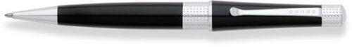 Cross Beverly Black Lacquer Ballpoint Pen - New in Gift Box
