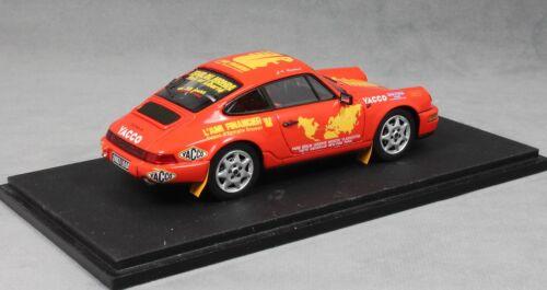 Spark Porsche 911 964 Carrera 4 World Tour 1994 Liautaud S1373 1/43 9580006913739