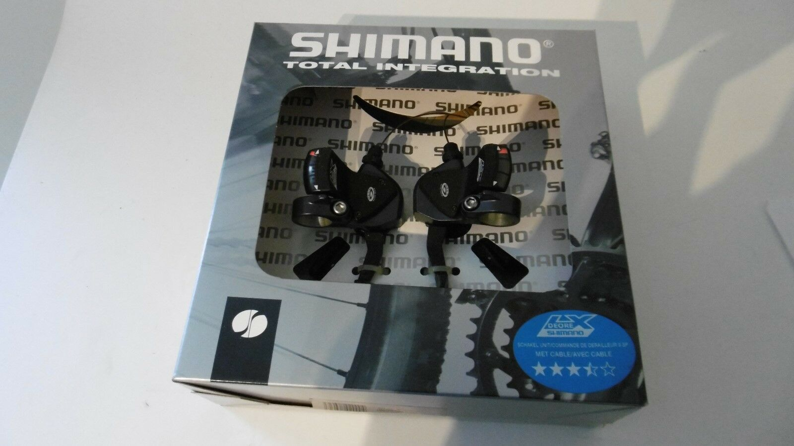 Shimano Deore LX SL-M570 Rapidfire 3x9Sp Palanca De Cambios Palanca Derecha & Izquierda Set Nuevo En Caja