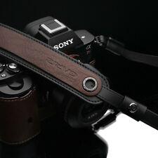 Gariz Xs-chlsnbr2 Italian Leather Mirrorless Camera Shoulder Neck Strap Brown