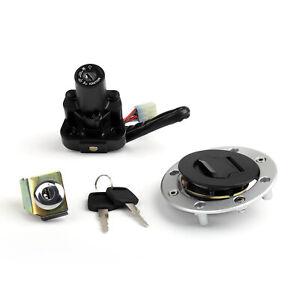 Ignition-Switch-Lock-amp-Fuel-Gas-Cap-Key-Set-for-Suzuki-GSX1300RX-Hayabusa-1999