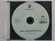 PORSCHE DVD AGGIORNAMENTO MAPPE NAVIGATORE PCM 2.1 EUROPA 2015-16