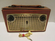 Vintage Zenith Royal 750 Transistor Radio *With Original Earpiece