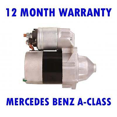 MERCEDES BENZ A-CLASS HATCHBACK 1997 1998 1999 2000-2012 STARTER MOTOR