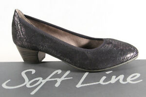 Ampiezza Jana Scollate Donna H Line Pantofola Morbido Nero By Scarpe argento qw7RUxzZ1