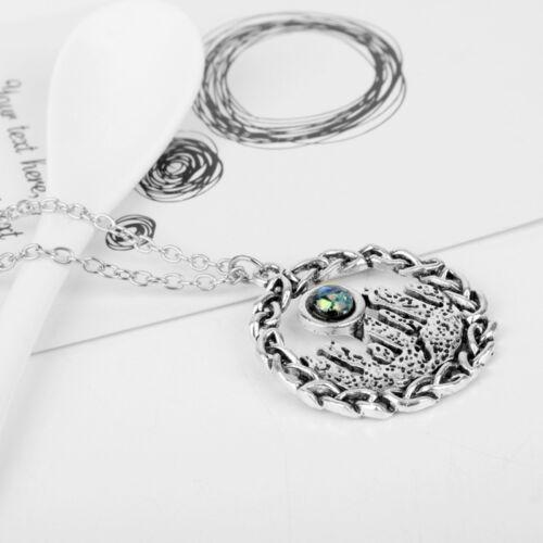 Outlander Collier Vintage Celtics Knot Triskele Trinity Écossais Irlandais Bijoux