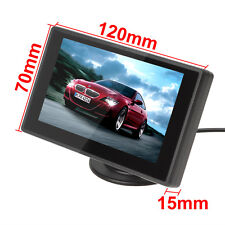 4.3'' 16:9 Color TFT LCD 2-CH Video Input DVD VCD Headrest Car Rear View Monitor