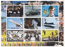 EVENTS OF THE 20th CENTURY BEATLES JAGUAR CONCORDE JFK 1998 MNH STMP SHEETLET
