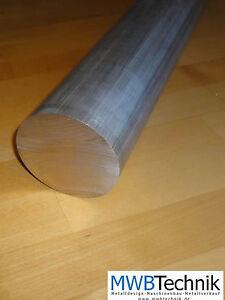 Alumiminum rund Rundmaterial Durchmesser 50 51,1 mm Länge 63 mm CNC