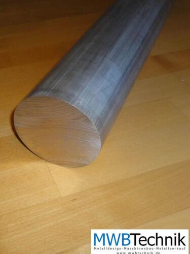 Aluminium Rund Durchmesser 50 mm L=ab 10 m AlCuMgPb AW2007 Rundstab Rundmaterial