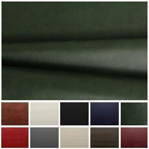 HEAVY-FEEL-FAUX-LEATHER-LEATHERETTE-VINYL-PVC-UPHOLSTERY-MATERIAL-FABRIC-1-metre