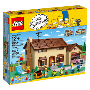 LEGO-Simpsons-Super-Rare-Simpsons-House-71006-New-amp-Sealed-some-box-wear