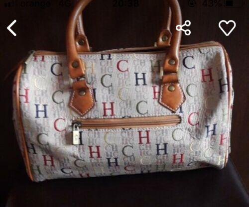 Carolina Herrera Logo Handbag