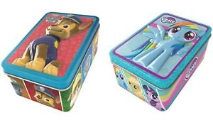 Paw-Patrol-My-Little-Pony-3D-Jigsaw-Puzzles-w-Tin-amp-Storybook-Gift-Party-bag