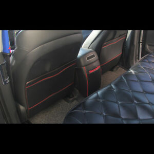 Backside Scratch Shield Leather Seat Cover For Hyundai
