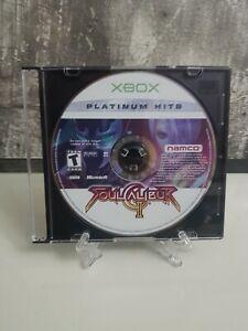 Soul Calibur 2 - SoulCalibur II -- Platinum Hits (Microsoft Xbox, 2003)