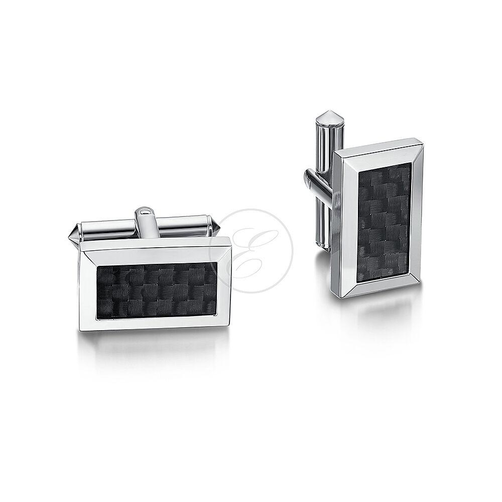 TITANIO rossoondo Quadrato Rettangolo Checker Design Da Uomo Gemelli argentoo argentoo argentoo Titanio a0a602