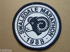 Swaledale Marathon 1988 Walking Hiking Woven Cloth Patch Badge