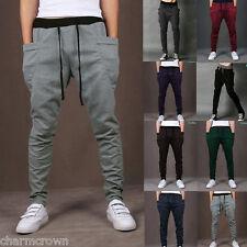 Unisex Casual Jogger Dance Harem Sport Pants Baggy Slacks Trousers Sweatpants
