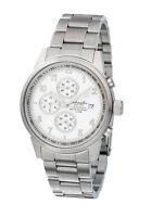 Eichmüller Formschöne Herrenuhr Edelstahl Chronograph Watch Steel 100 Meter