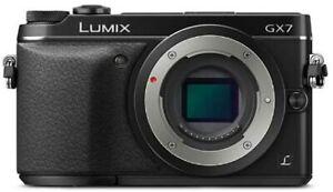 Panasonic Mirrorless Single-Lens Camera Lumix GX7 Body DMC-GX7-K Digital ERMI