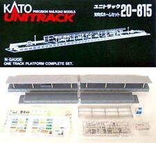 NEW KATO UNITRACK 20-815 ONE SIDED STATION SET