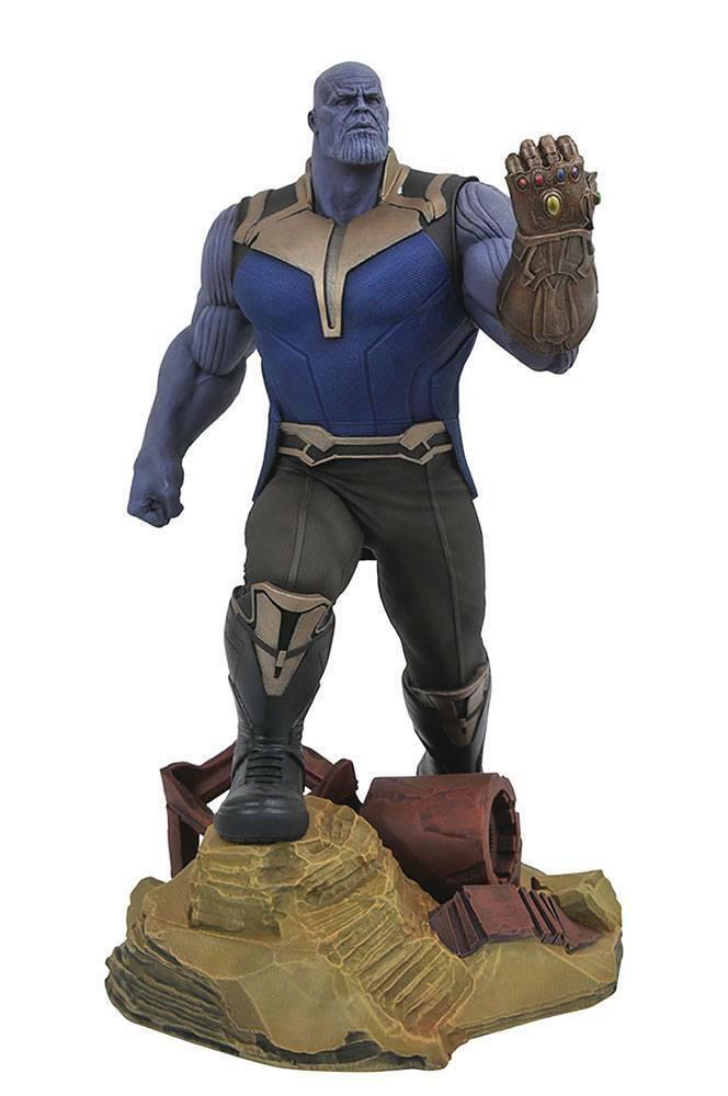 Avengers Infinity War Marvel Gallery PVC Statue Thanos 23 cm APR182161
