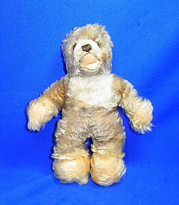 Vintage German Stuffed Animal Toy Steiff Teddy Bear without Button #C1