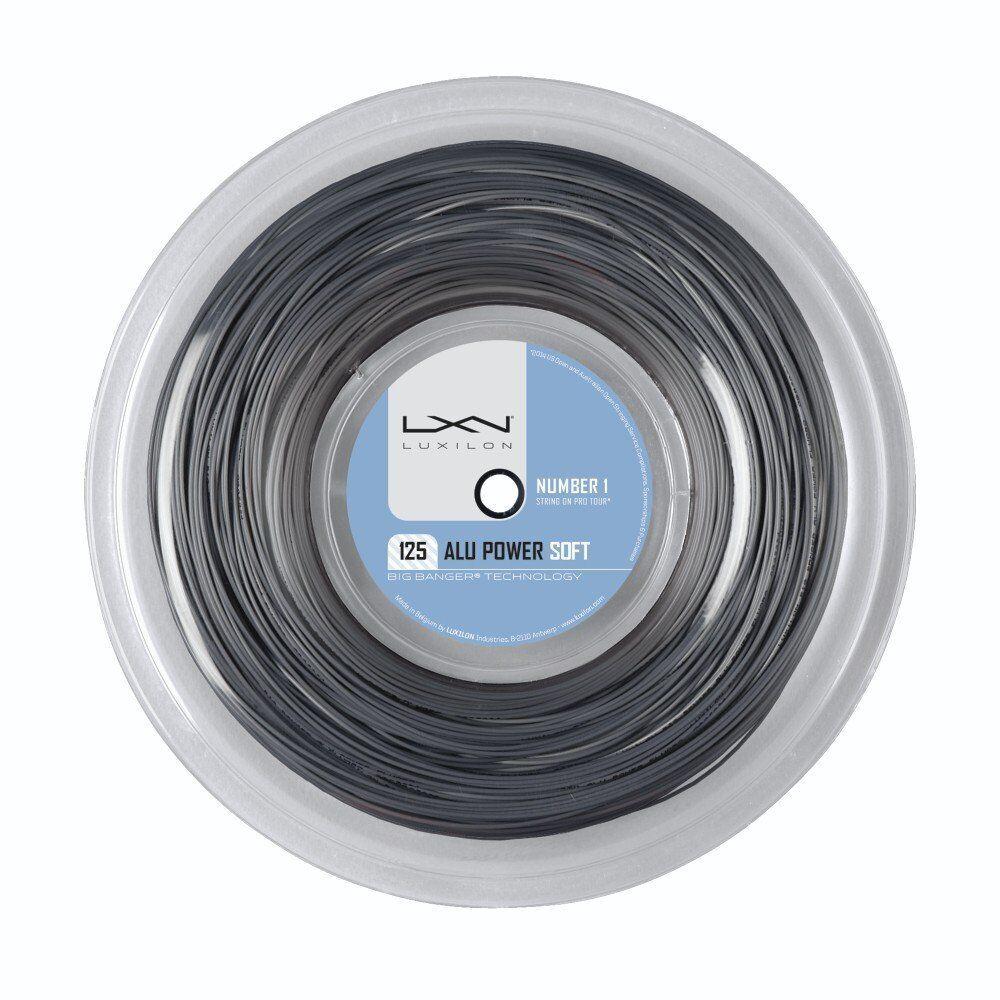 LUXILON ALU POWER SOFT 16L (1.25) tennis string reel - 200M 660 ft - Auth Dealer