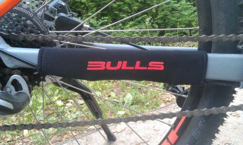 Bike Fahrrad BULLS Rot Chain Slapper Protection Kettenstrebenschutz