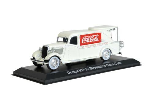"1934 Dodge KH-32 Streamline Fountain Truck /""Coca-Cola/"" Cream 1//43 Diecast Model"