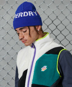Superdry Mens Sportstyle Beanie Size 1Size