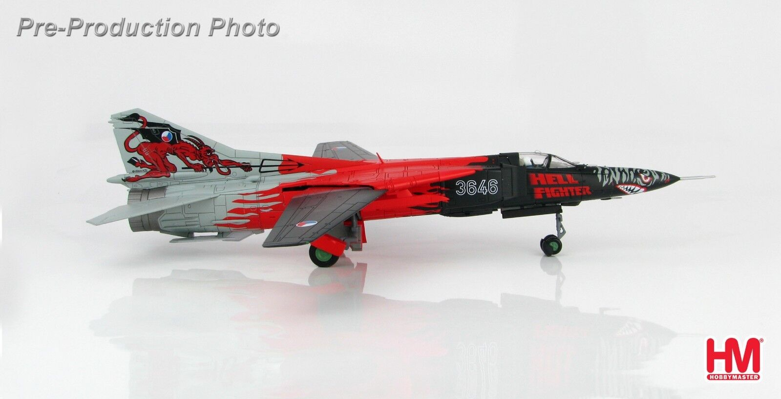 Hobby Master HA5307,MIG-23MF Flogger Hell Fighter 3646, Czech Republic Air For
